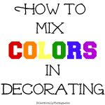 How to Mix Colors in Decorating