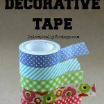 5 Decorative Tape Ideas