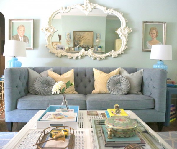 10 Living Rooms We Love: Eclectic House Tour