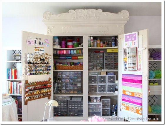 In my own style house tour at eclectically vintage for Organization ideas for small spaces