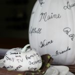 Thanksgiving Thankful Pumpkins - great idea! kellyelko.com #thanksgiving #thanksgivingcrafts #fallcrafts #kidscrafts #pumpkincrafts #pumpkins