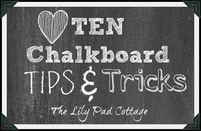 Chalkboard Tips & Tricks - plus see 12 unique chalkboard ideas kellyelko.com