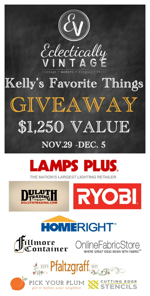 Kelly's Favorite Things Giveaway – $1,250+ in Prizes!