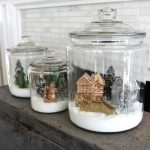How to make snow village jars kellyelko.com