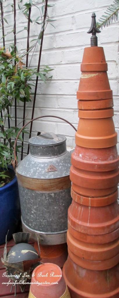 Terra Cotta Pot Tree