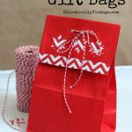 Make Gift Bags from Paper Lunch Bags kellyelko.com