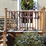 Decking My Back Deck for Christmas #DamageFreeDIY
