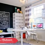 Chic Home Office - one of 10 Creative Craft Rooms