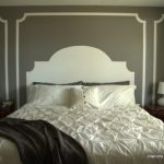 Make a painted headboard kellyelko.com