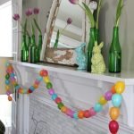 My Spring Mantel & What I Stole from My Mom-In-Law!