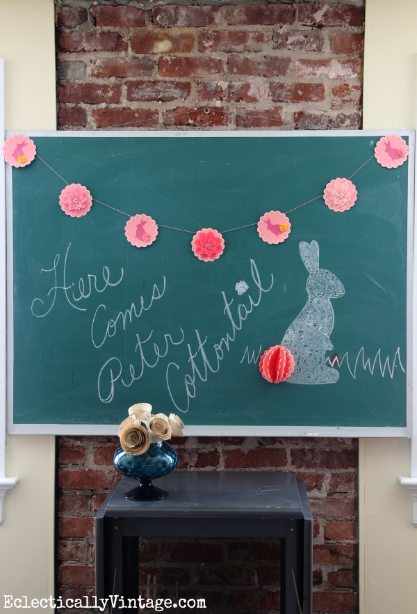 Make a Spring Banner and a Tale of Multiplying Bunnies!