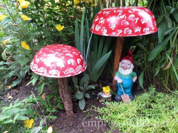 Garden mushrooms kellyelko.com