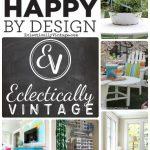 Eclectically Vintage is HomeGoods Happy! kellyelko.com