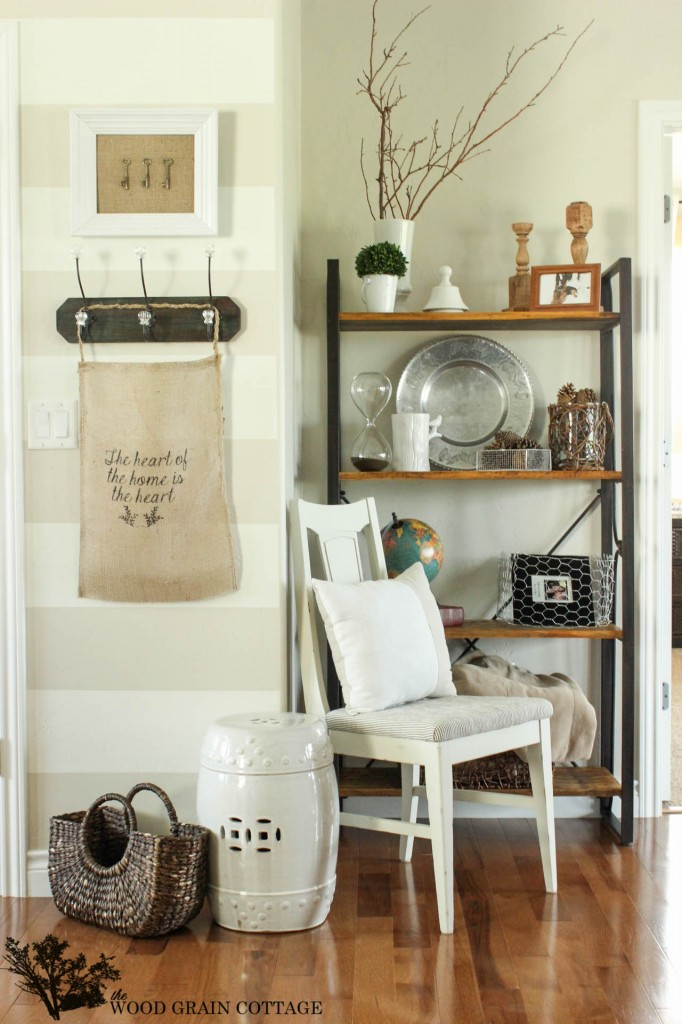 Eclectic Home Tour The Wood Grain Cottage