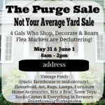 How to Throw a Killer Yard Sale – The Purge Sale 2014!
