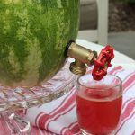 Make a watermelon drink dispenser kellyelko.com