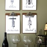 A Toast to Fall, Vintage Clipboards, Vino & Free Printables!