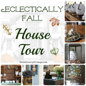 Eclectically Fall Home Tour kellyelko.com