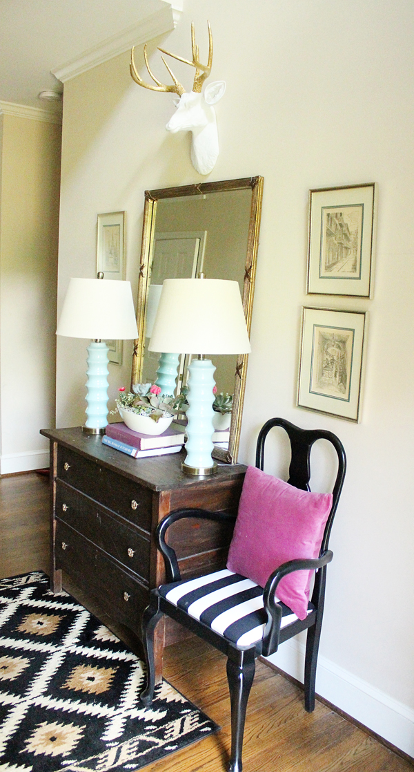Eclectic Home Tour Charming in Charlotte kellyelko.com
