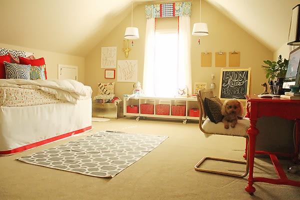 Fun multi purpose guest room and play room kellyelko.com
