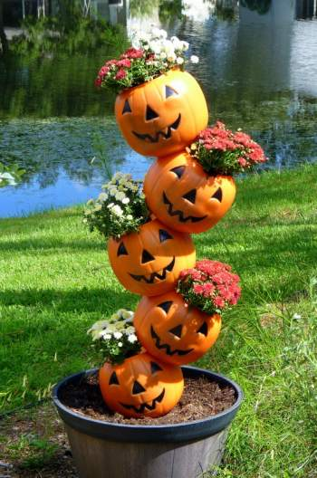 Plastic Pumpkin Decorations