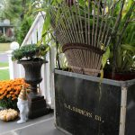 Vintage Fall Planter kellyelko.com