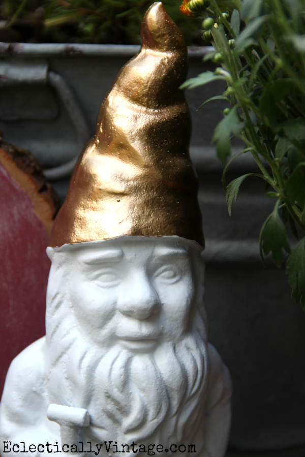 Make a gold gnome! kellyelko.com