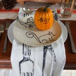 My Thanksgiving Table and Elastic Waist Pants!