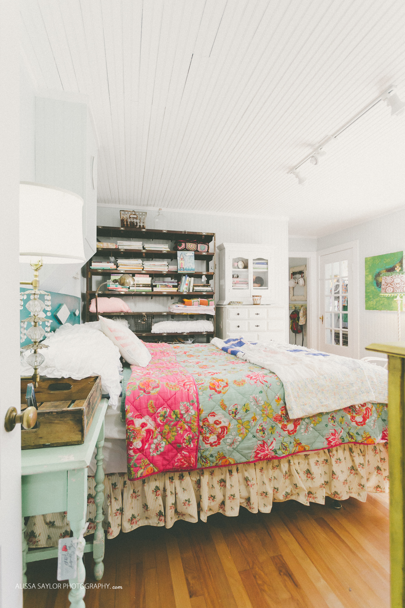 Eclectic home tour the strawberry patch for Decor market