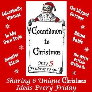Countdown to Christmas - 6 Creative Christmas Ideas Every Week! kellyelko.com