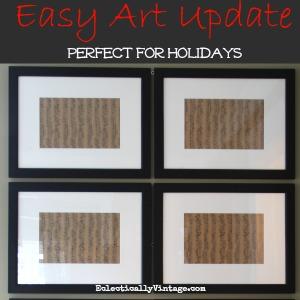 Easy Art Update kellyelko.com