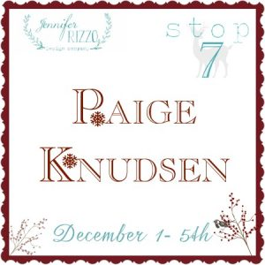 Paige Knudsen Christmas House Tour