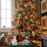 Rockin Robin Christmas Tree & a Glowing Snow Village