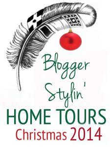 Blogger Stylin Home Tours Christmas kellyelko.com