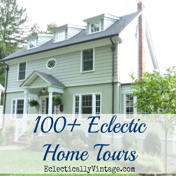 Eclectic Home Tours - tons of homes to inspire kellyelko.com