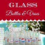How to clean glass bottles eclectiallyvintage.com