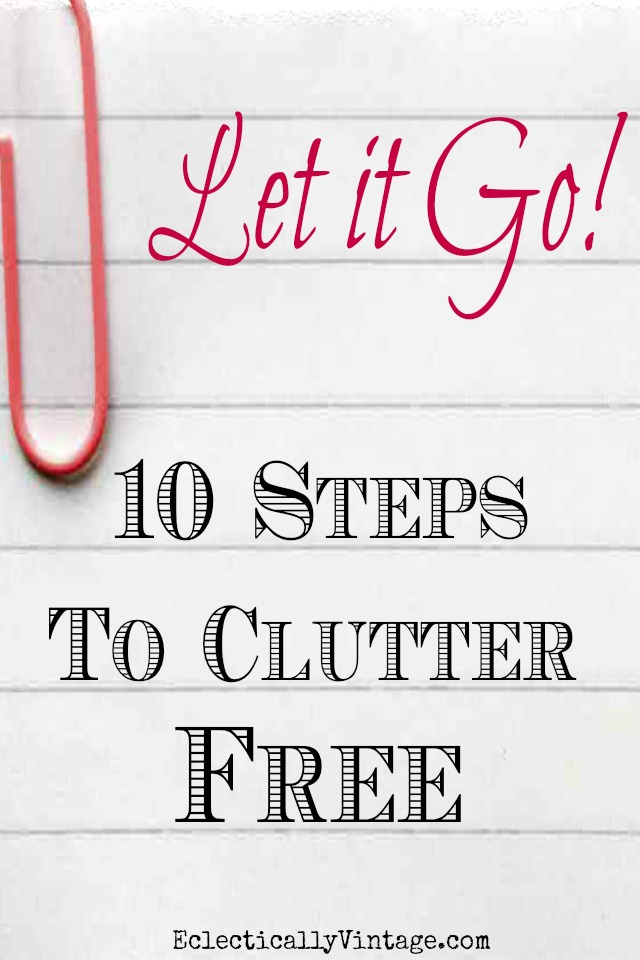 Decluttering Tips and How to Maintain Order kellyelko.com #clutter #organize #organizing #mariekondo #clutter #storage #organizationideas #kellyelko