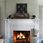 Rustic Winter Mantel