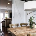 DIY Barn Door and house tour kellyelko.com