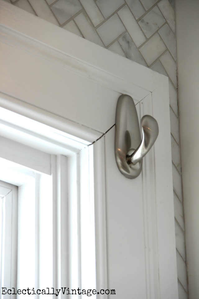 Diy Dish Towel Window Treatment Brighten Up Your View