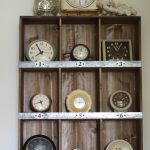 Powder Room Progress – Vintage Clock Collection