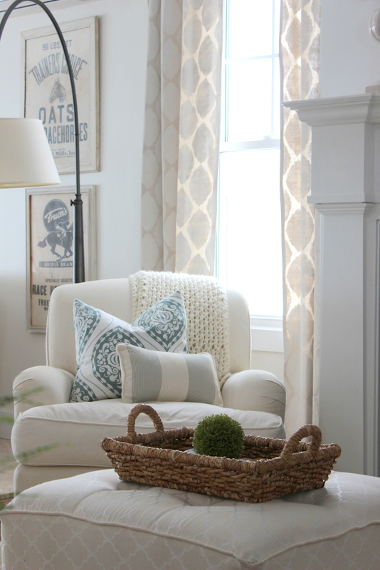 Eclectic home tour proverbs 31 girl Reading nook in living room