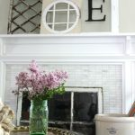The Art of Propping – Antique Window Mantel