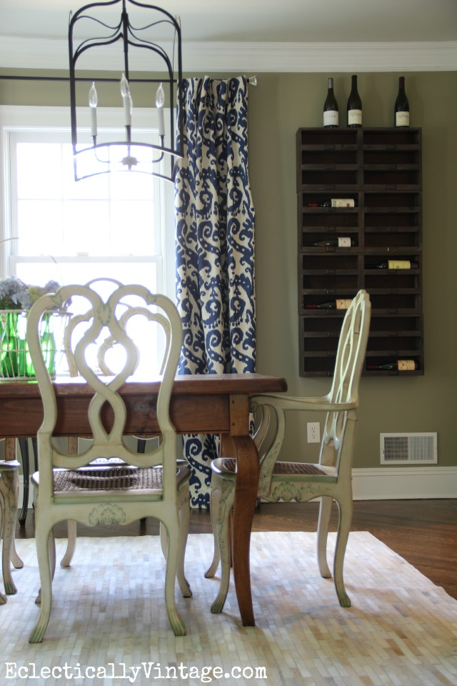 This Dining Room Is Stunning Love The Wine Cubbies On Wall Double