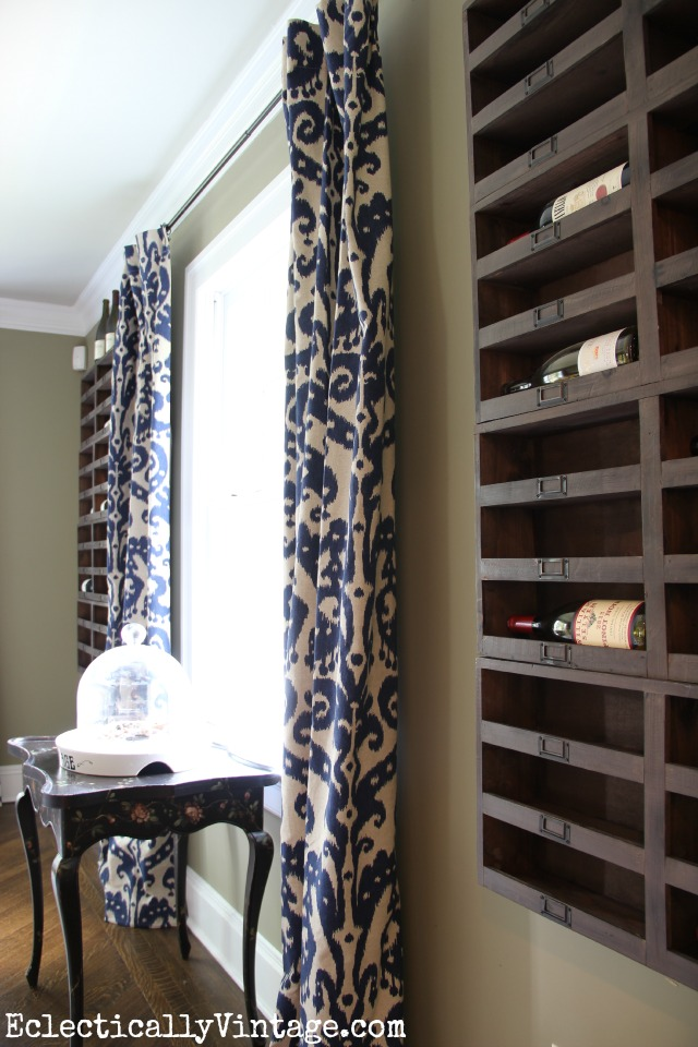 wine-storage-dining-room - Kelly Elko