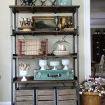 New Open Shelving Styling