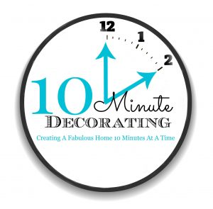 10 Minute decorating ideas kellyelko.com