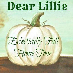 Dear Lillie Eclectically Fall Home Tour