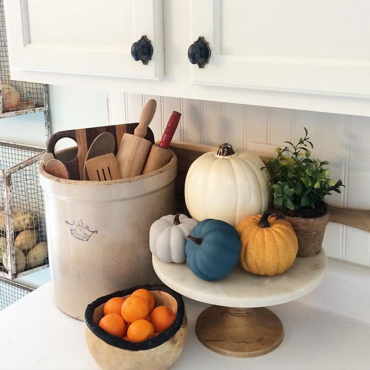 Kitchen Decor For Fall: Creative Fall Decorating Ideas