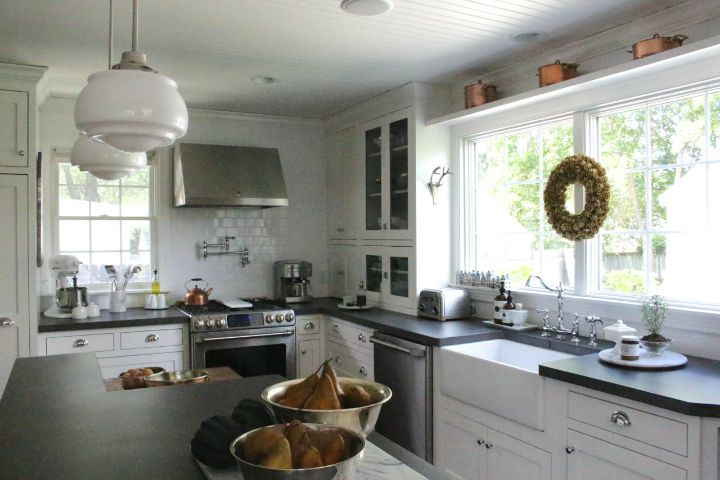 Adventures In Decorating Our 2015 Fall Kitchen: Eclectically Fall Decorating